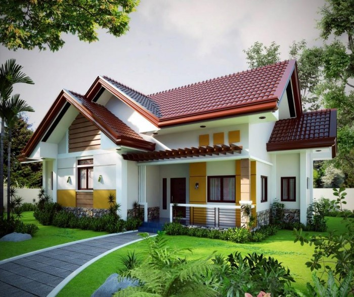 Beautiful small house design pictures