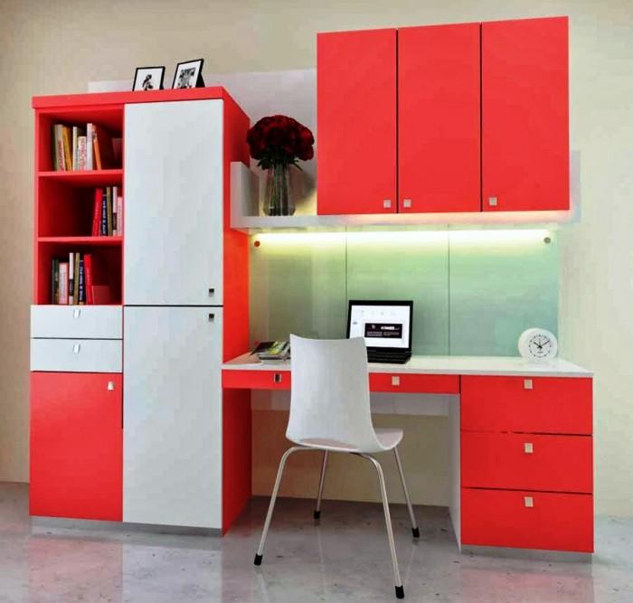 Simple Study Room Design Idea
