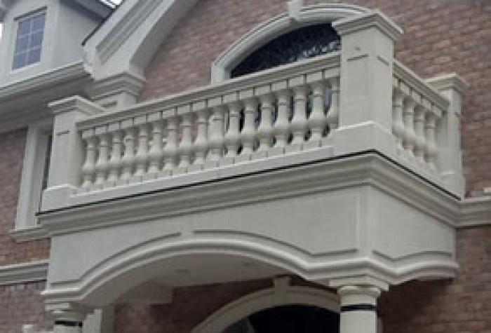 Terrace Cement Railings