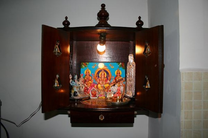 Wall Mounted Pooja Room Designs Part 4