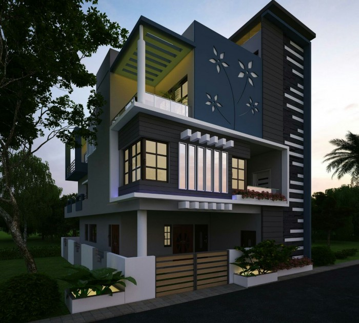 Front Design Of House In Haryana Part - 19: Ghar360- Home Design Ideas, Photos And Floor Plans
