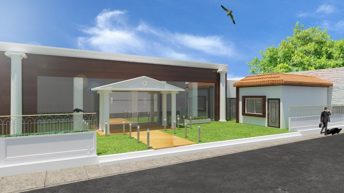 Marriage Hall Exterior Design
