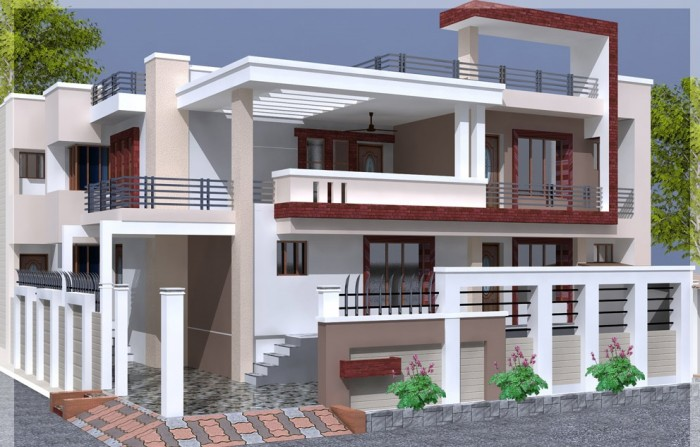 Front Design Of House In Bangalore Part - 31: Ghar360- Home Design Ideas, Photos And Floor Plans