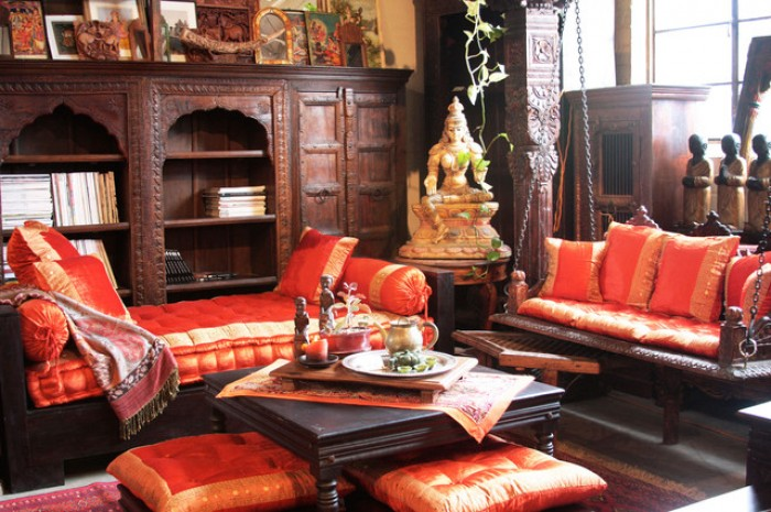 Living Room Furniture Indian Style indian style vintage living room furniture
