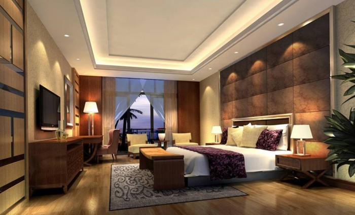 Luxury Modern Bedroom ghar360- home design ideas, photos and floor plans