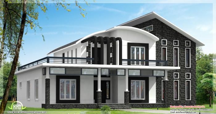 Unique House Design - Pergola design