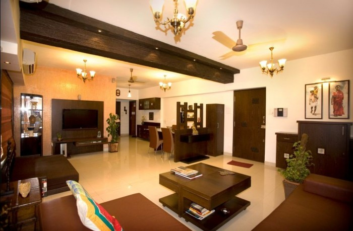 The Indian interior design ideas are centered on the various aspects of  space design which include furniture selection, flooring, wall covering