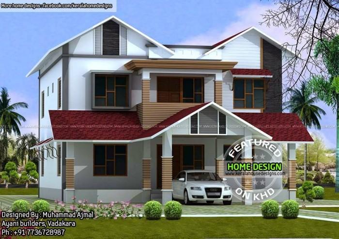 Designed By : Muhammad Ajmal Ayani Builders, Vadakara