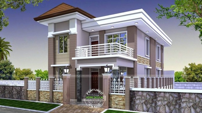 modern residences with mesmerizing exteriors by kerala house designs - Home Design 2015