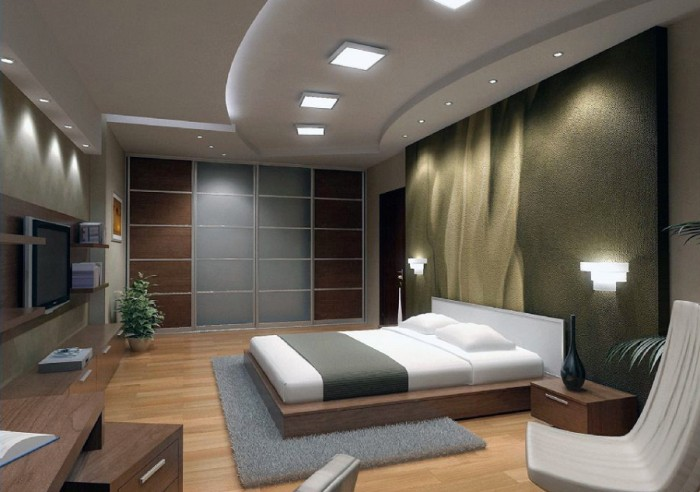 Bedroom: Best Bedroom Interior Design Ideas With Cool Lighting And ...