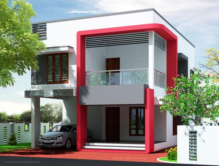 Exterior design ideas for small houses