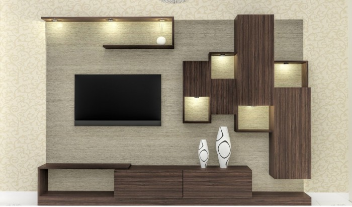 Attrayant TV Unit Design
