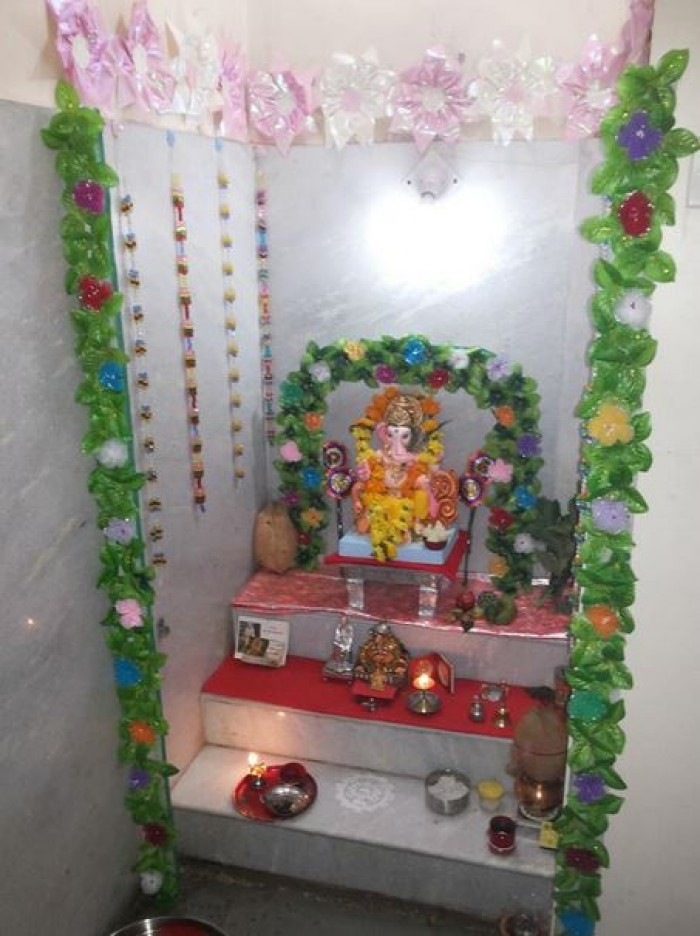 Temple Decoration Ideas For Home Part - 33: Ghar360- Home Design Ideas, Photos And Floor Plans