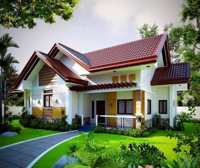 Stunning Small Beautiful Houses creative small modern house designs and floor plans philippines in small house designs Ghar360 Home Design Ideas Photos And Floor Plans