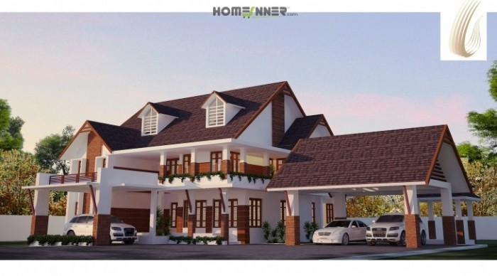 6500 sq ft villa stunning home design for 6500 square foot house plans