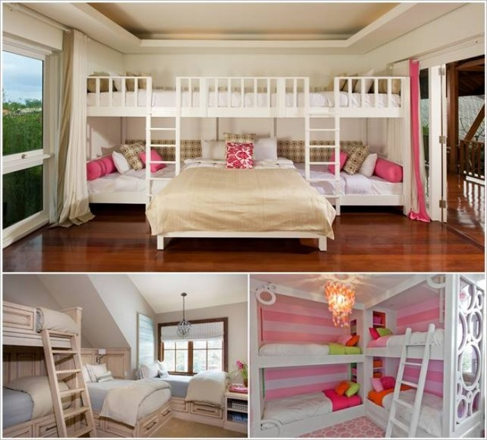 Bunk Bed Designs For Four Kids