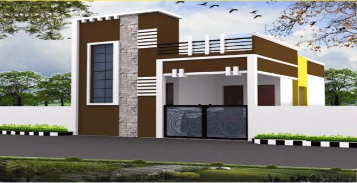 Front Elevation Designs Independent Houses : Independent house elevation