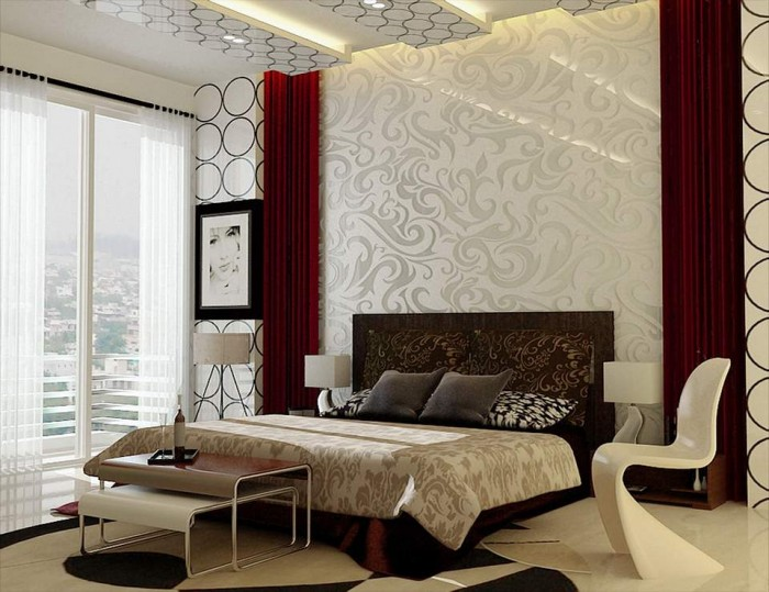 Art deco bedroom for Bedroom designs delhi