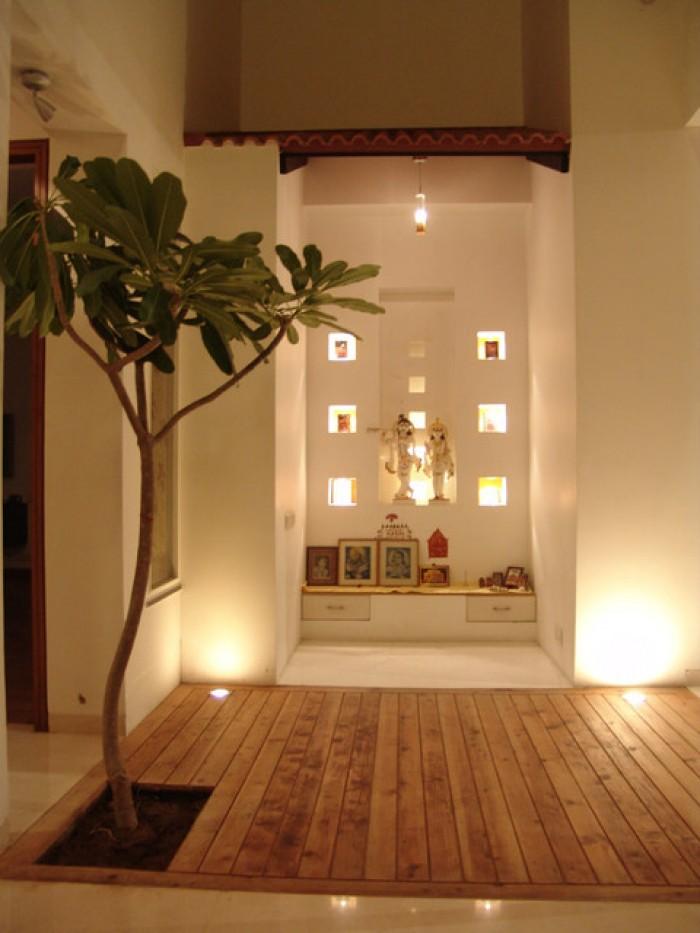 traditional  u0026 modern pooja room