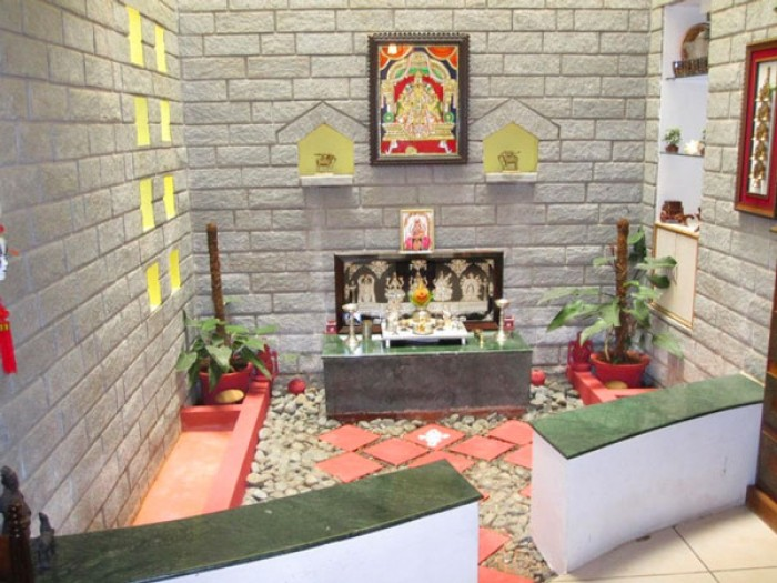 Pooja room designs kerala style - Pooja room door designs in kerala ...