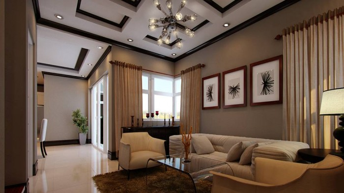 Mind blowing luxury home plan for Spectacular living rooms