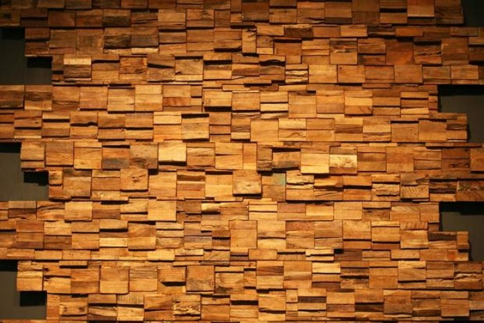 Wood Wall Cladding Texture