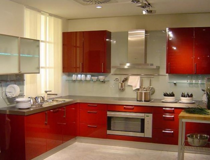 Modern indian kitchen interior design - Kitchen interior designing ...