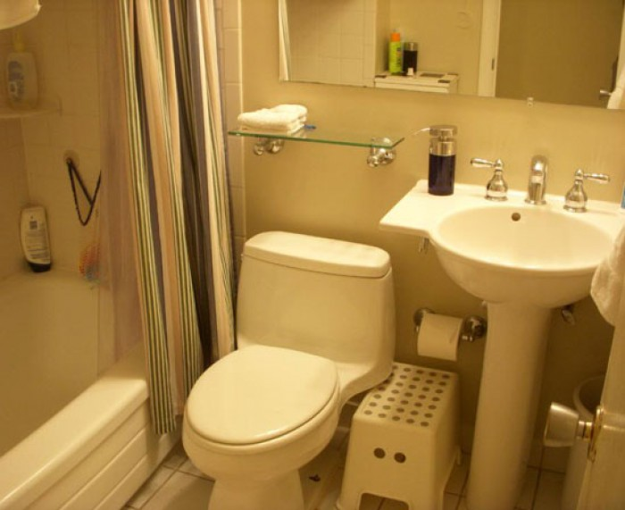 Small bathroom interior for Interior design ideas for small bathrooms