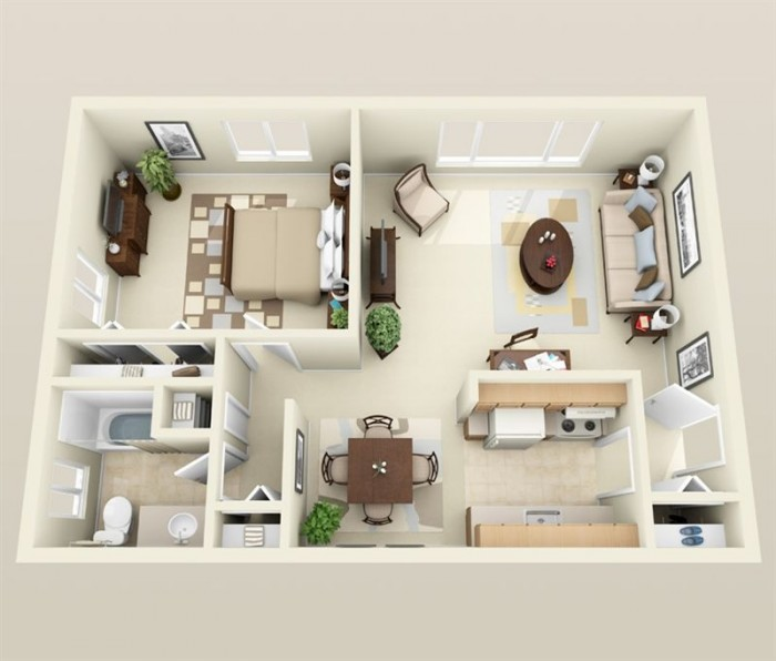 1 bhk apartment for 1 bhk flat decoration idea