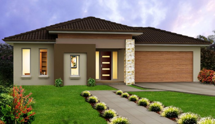 Home Exterior Design G 2 Andhra Client
