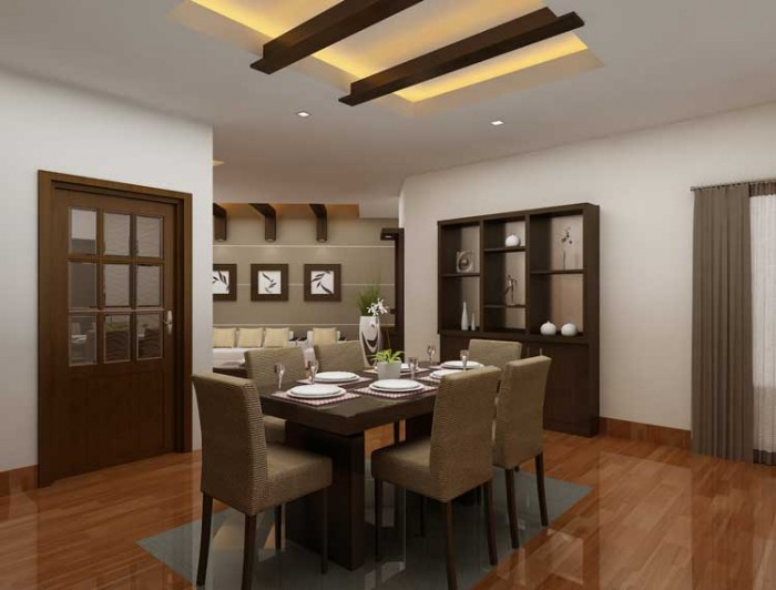 Kitchen and dining room designs india for Kitchen dining room ideas photos