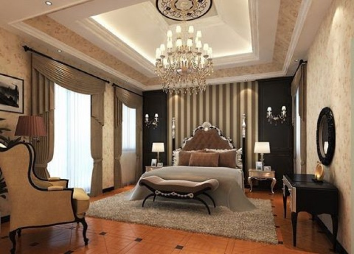 Luxury contemporary master bedrooms interior design for Master bedroom interior designs