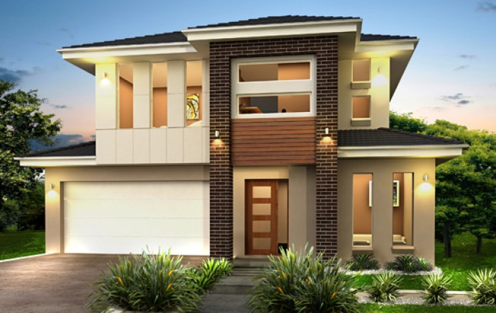 Ghar360 home design ideas photos and floor plans for Two story home designs