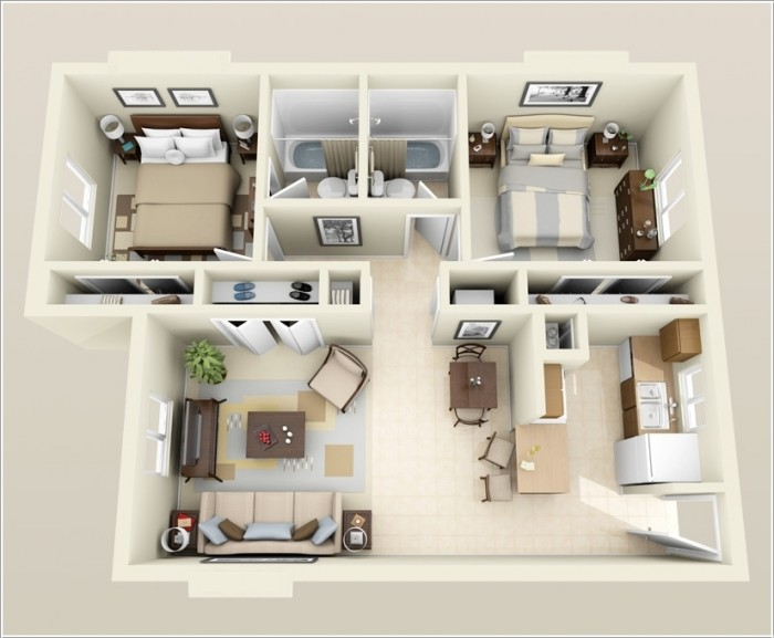 Residential Living Floor Plans  Brethren Village
