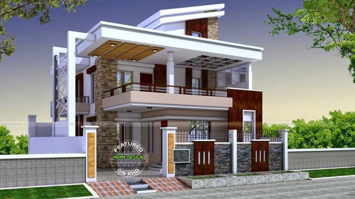 Ghar360 home design ideas photos and floor plans - Home exterior remodel software free ...