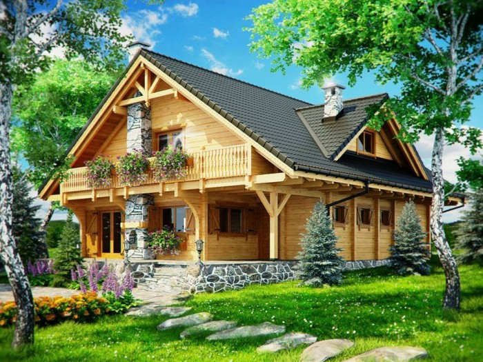Beautiful Exquisite Wooden Houses