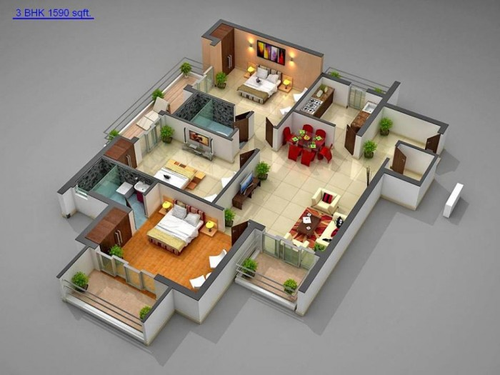 Ghar360 home design ideas photos and floor plans 3d house plans in 1000 sq ft