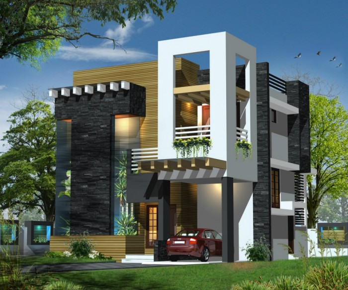 Front Elevation Contemporary : House front elevation photos in tamilnadu joy studio