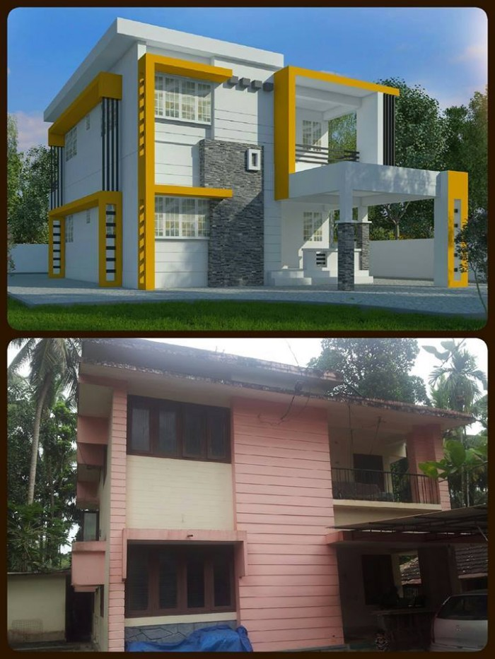 Ghar360 home design ideas photos and floor plans for Old house renovation ideas