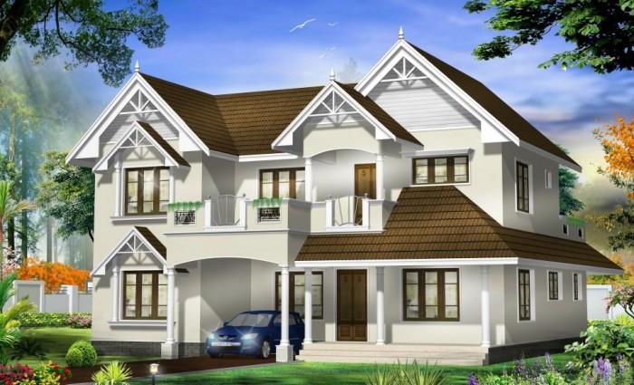 Home Front Elevation Designs In Nadu : Tamil nadu style home design