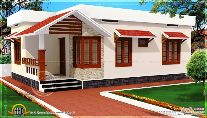Ghar360 home design ideas photos and floor plans for Low cost kerala housing plans