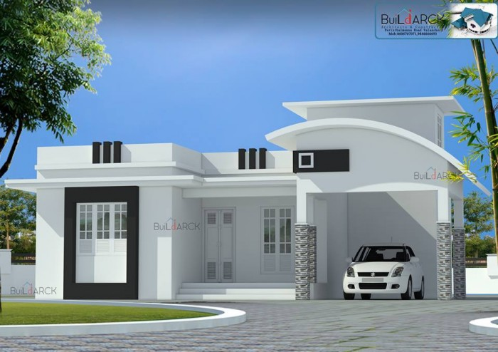 Simple and beautiful front elevation design for Images of front view of beautiful modern houses