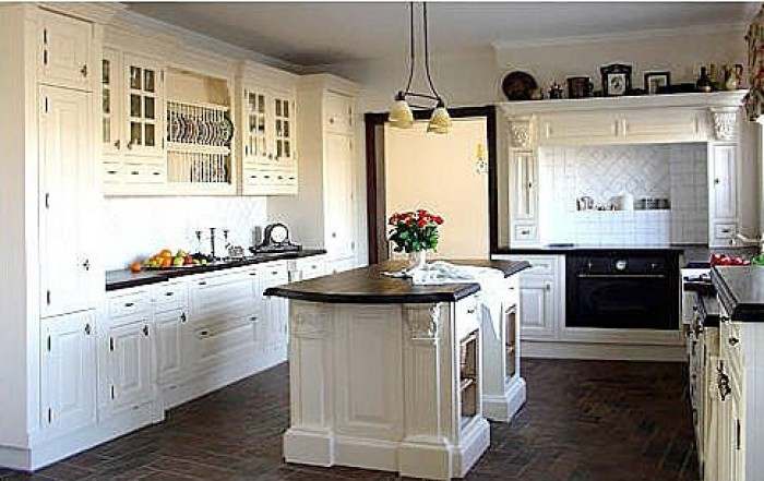 Ghar360 home design ideas photos and floor plans for Victorian style kitchen