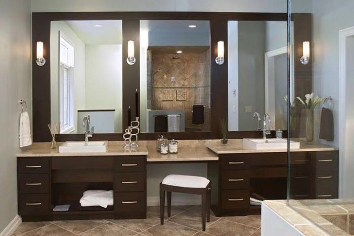 Beautiful Bathroom Sink Mirror