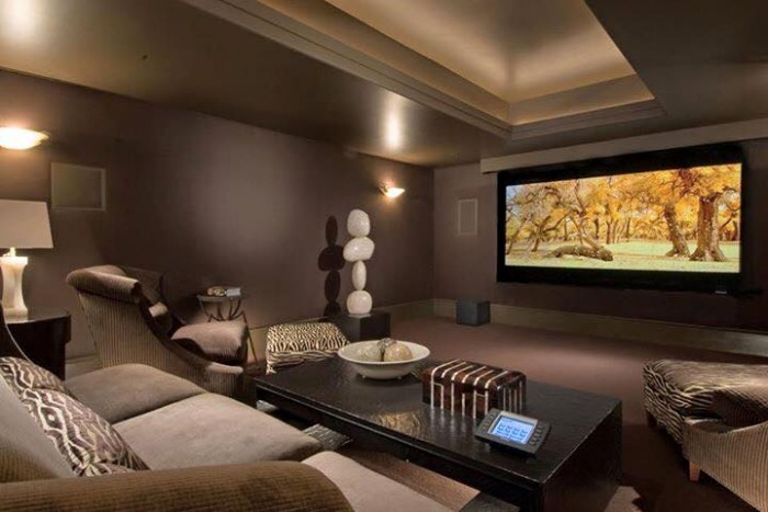 Home theater idea for Home theatre ideas design