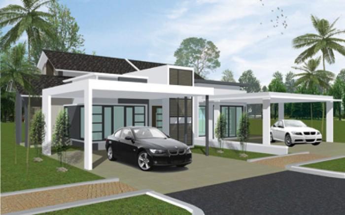 Ghar360 home design ideas photos and floor plans for Semi detached house design