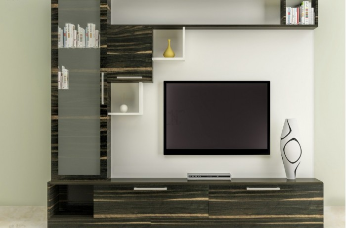 7 cool contemporary tv wall unit designs for your living room for Modern tv unit design ideas