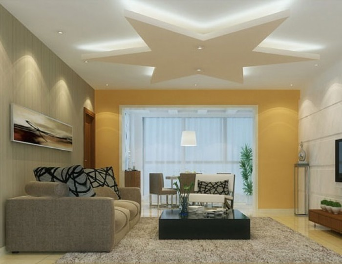 Living Room Ceiling Designs | False Ceiling Design Gallery – Saint ...