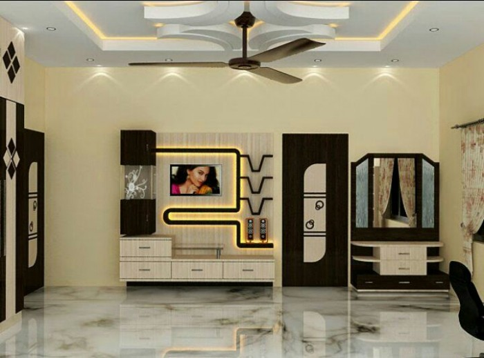 Things In Your Bedroom 7 Cool Contemporary Tv Wall